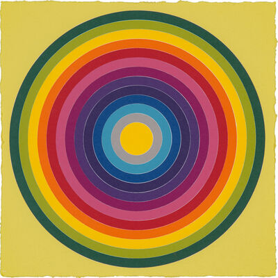 Polly Apfelbaum, 'Target Practice 20', 2020