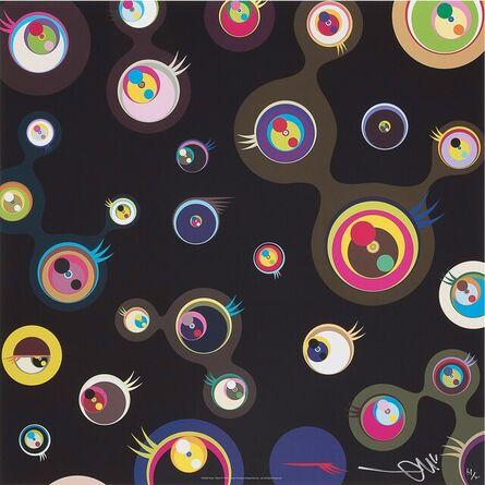 Takashi Murakami, 'Jellyfish eyes black 3', 2004