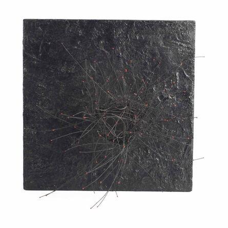 Pol Bury, '113 Points rouges sur fond noir', ca. 1960