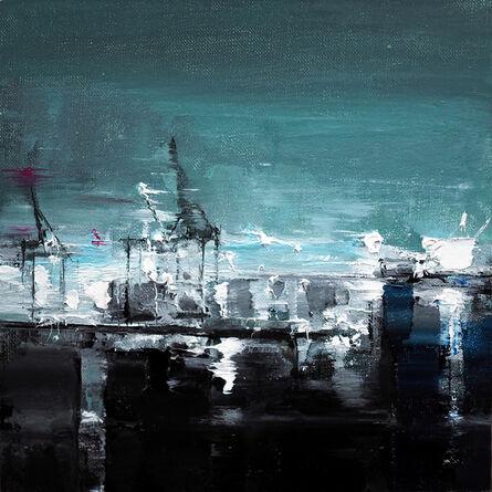 Heiko Mattausch, 'Hamburg Harbour', 2017