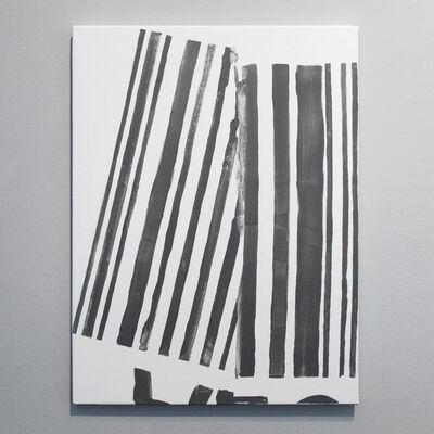 Ana Bidart, 'Pasaporte detail (folded barcode)', 2014