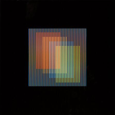 Carlos Cruz-Diez, 'Color Aditivo Serie 15x15 A', 2015