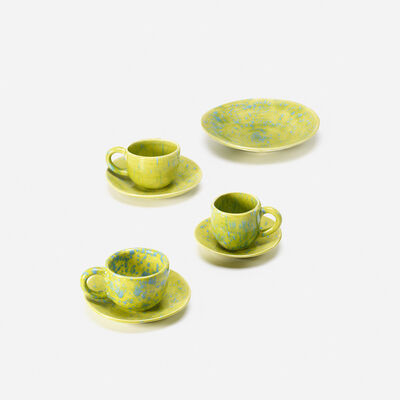 Mary Heilmann, 'tableware set from the Flying Saucer Project', 2008