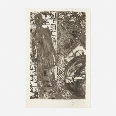 Jasper Johns, 'Poems by Wallace Stevens', 1985
