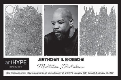 Anthony E. Hobson Meditation Illustrations