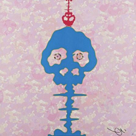 Takashi Murakami, 'Time Bokan (Camouflage Pink)', 2011