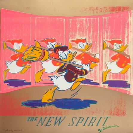 Andy Warhol, 'The New Spirit (Donald Duck), from the Ads portfolio', 1985