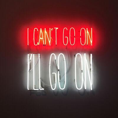 Alfredo Jaar, 'I can´t Go On. I´ll Go On', 2016