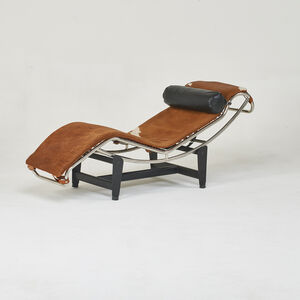 Style of Le Corbusier, 'Adjustable lounge chair'