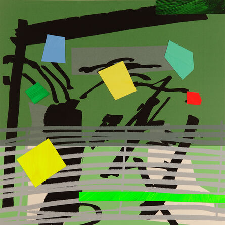 Bruce McLean, 'Grey Grow Green', 2015