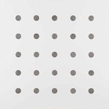 John M. Armleder, 'H Painting', 2005