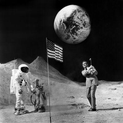 Terry O'Neill, 'Sean Connery, Bond On The Moon', 1971