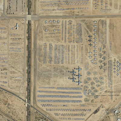 Josh Begley, 'Davis-Monthan Air Force Base', 2014