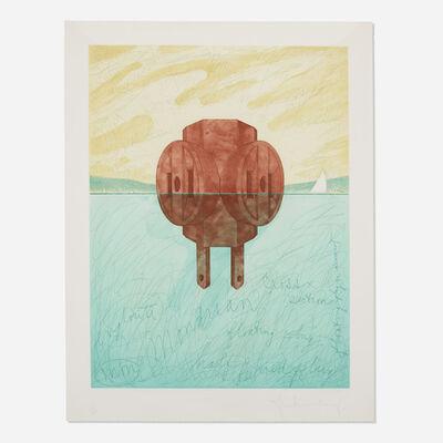 Claes Oldenburg, 'Floating Three-Way Plug', 1976