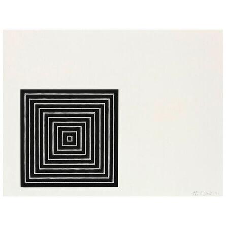 Frank Stella, 'Conspiracy', 1971