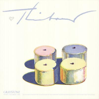Wayne Thiebaud, 'Four Cakes', 1986