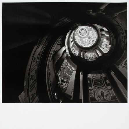 Hiroshi Sugimoto, 'Staircase II, Villa Farnese, Caparola', 2018