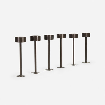 Philip Johnson, 'six outdoor lights from the Amon Carter Museum of American Art, Fort Worth', 1961