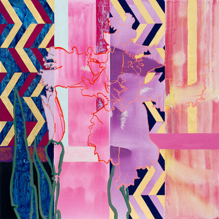 Robert Kushner, 'Visitor', 2017