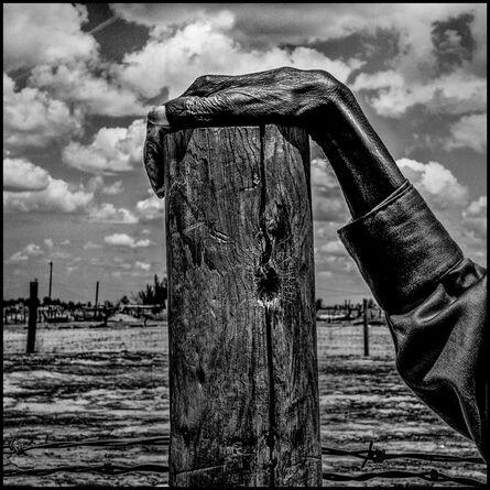 Matt Black, 'Fence post, Allensworth, California, 2014.', 2014