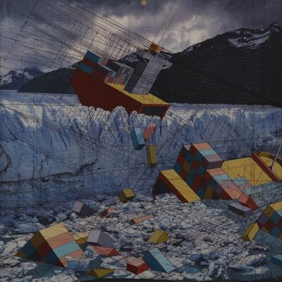 Mary Iverson, 'Glacier', 2014