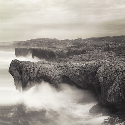 Frank Hallam Day, 'Llanes, Coastline #1', 1988
