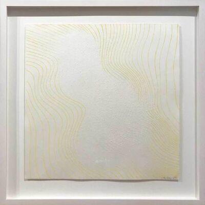 Günther Uecker, 'Welle gelb', 1965