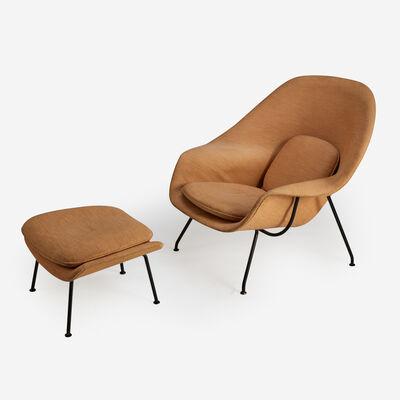 Eero Saarinen, 'Womb Chair and Ottoman, Knoll Associates', circa 1955