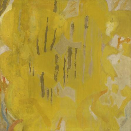 Perle Fine, 'Yellow Ambit', 1952
