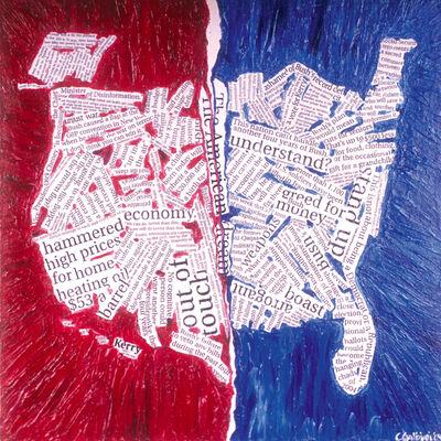 Christina Galbiati, 'America Divided', 2004