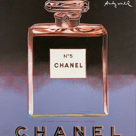 Andy Warhol, 'Chanel No. 5 (Blue)', 1986