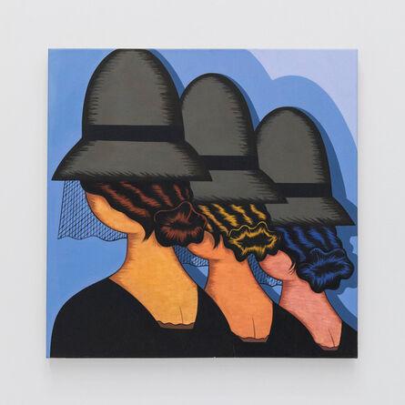 Julie Curtiss, 'Three Widows', 2016