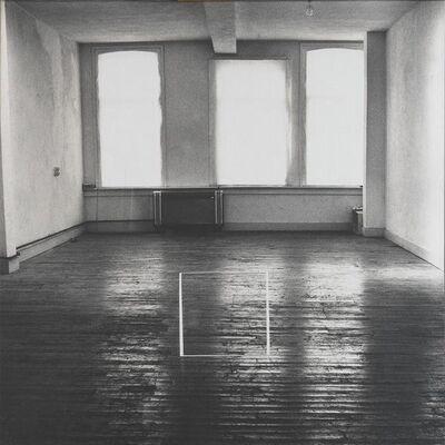 Jan Dibbets, 'Perspective Correction - My Studio II', 1996