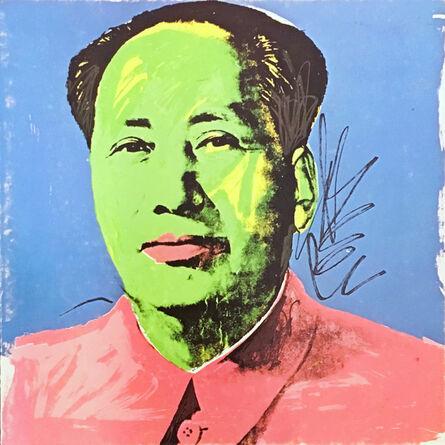 Andy Warhol, 'Warhol Mao Castelli invitation card 1972 (Warhol Mao at Leo Castelli)', 1972