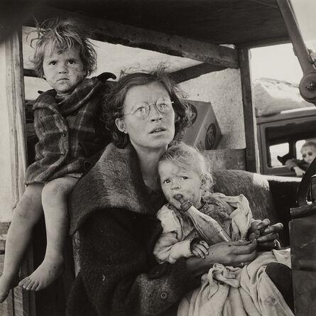 Dorothea Lange, 'Mother and Children on the Road, Tulelake, Siskiyou County, California', 1939
