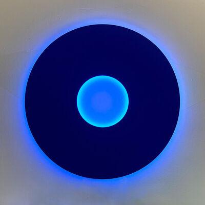 Christian Herdeg, 'Blue Disc', 2010