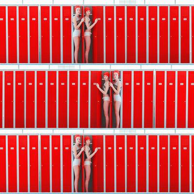 Maria Svarbova, 'Triple Locker (Hide 3)', 2017