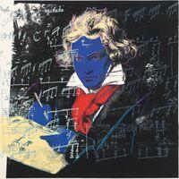 Andy Warhol, 'Beethoven (FS II.390)', 1987