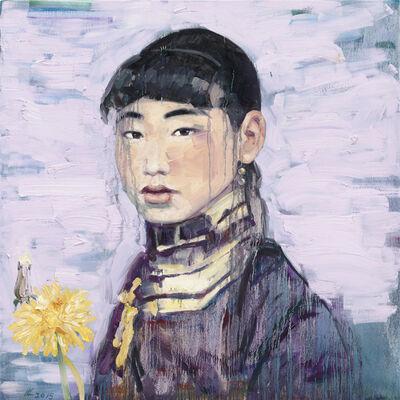 Hung Liu 刘虹, 'Dandelion 12a ', 2015