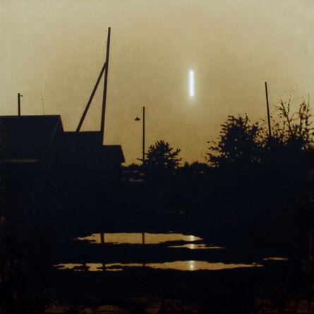 Rinat Voligamsi, 'Moon Turned Sideways 2', 2015