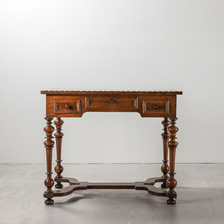 N/A, 'Late 17th Century North Italian Walnut Writing Table With an Altering Border of Ebony and Ivory', ca. 17th