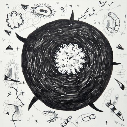 Anaïs Senli, 'Filamentous growth 8'