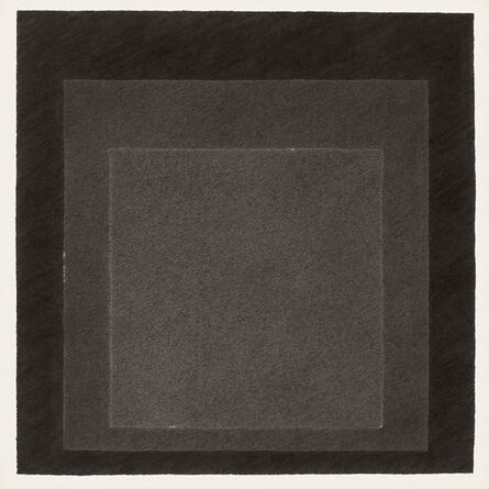 Klaus Mosettig, 'Study for Homage to the Square 1964 (KM006/20)', 2014