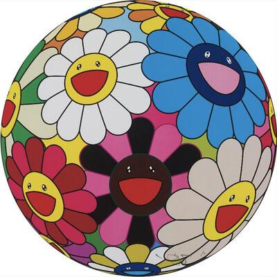 Takashi Murakami, 'Algae Ball – Flowerball', 2013