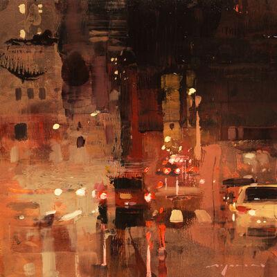 Jeremy Mann, 'Cityscape - Composed Form Study No. 19'