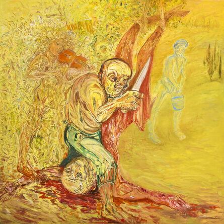 Mehmet Güleryüz, 'Homage to Titian's Marsyas II', 2015