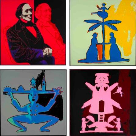 Andy Warhol, 'Hans Christian Andersen II.394 - II.397', 1987
