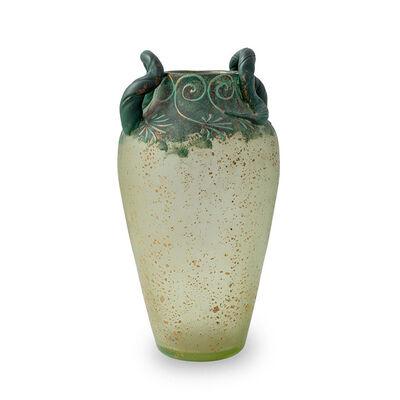 Loetz, 'Loetz Vase decoration variant Cephalonia with patina ca. 1904', ca. 1904