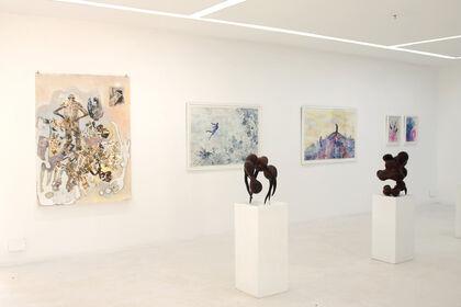 Group Show at Circle Art Gallery  with selected artists from Kenya, Uganda and Sudan