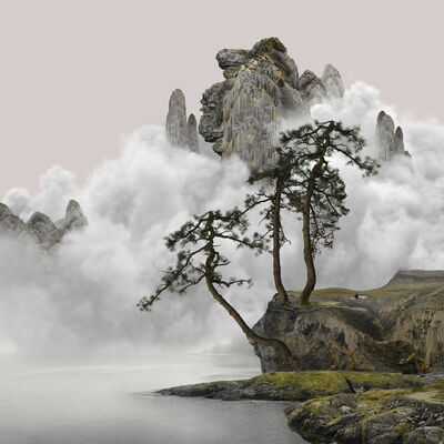 Yang Yongliang 杨泳梁, '幼鹿Doe', 2021
